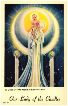 Ourladyofthecandles--vintage-holy-cards-madonna-and-child